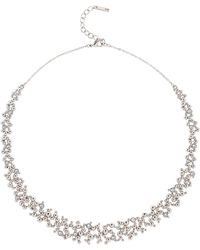 Karen Millen - Evolution Crystal Necklace - Lyst