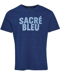 French Connection | Men's Sacre Bleu T-shirt | Lyst