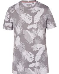 Ted Baker - Men's Scotty Leaf Print Cotton T-shirt - Lyst