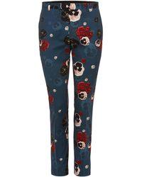 Label Lab - Men's Ritchie Skinny Fit Floral Suit Trouser - Lyst