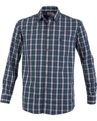 Double Two - Multi Check Casual Shirt - Lyst