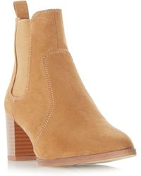 Dune - Pagey Chelsea Point Boots - Lyst
