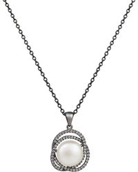 Jersey Pearl - Freshwater Pearl Pendant - Lyst