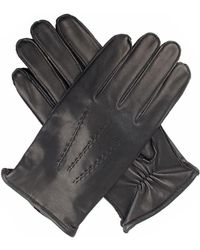 Dents - Mens Leather Gloves With Flannel Back - Lyst