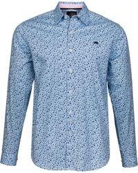 Raging Bull - Big And Tall Blossom Print Shirt - Lyst