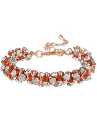 Mikey - Cubic Dumbell Beads Elastic Bracelet - Lyst
