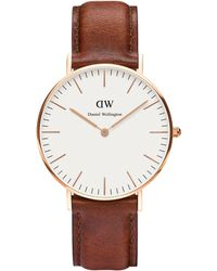 Daniel Wellington - 0507dw Ladies Strap Watch - Lyst