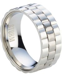 Storm - Velo Silver Ring - Lyst