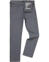 Armani Jeans - J21 Regular Fit Grey Jeans - Lyst