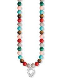 Thomas Sabo - Charm Club Multi-coloured Beaded Charm Necklace - Lyst