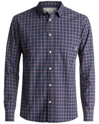 Quiksilver | Everyday Check Long Sleeve Shirt | Lyst
