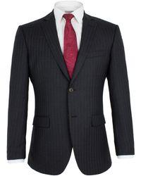 Alexandre Of England - Blackheath Charcoal Stripe Suit - Lyst