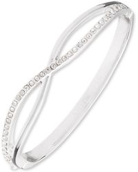 Anne Klein - Box Set Criss Cross Bangle - Lyst