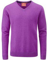 Skopes - Men's Lerwick Knitwear - Lyst
