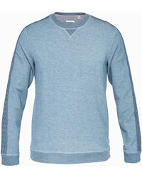 Ted Baker - Knitted Panel Detail Sweatshirt - Lyst