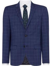 HUGO - Men's Henry Slim Fit Check Two-piece Suit Jacket - Lyst