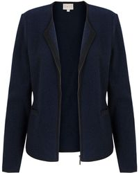 East - Piped Boiled Wool Jacket - Lyst