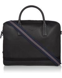 Ted Baker - Lowme Core Leather Document Bag - Lyst