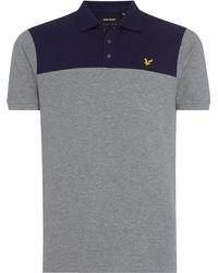 Lyle & Scott - Men's Yoke Polo Shirt - Lyst