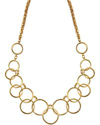 Nine West - Tail Necklace - Lyst