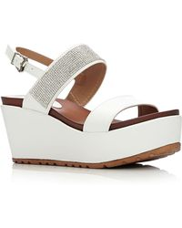 68b6afbe8600ce Moda In Pelle - Panelo High Casual Sandals - Lyst