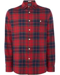 Howick - Men's Texhoma Check Long Sleeve Shirt - Lyst