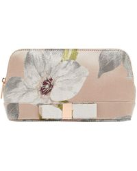Ted Baker - Suee Chatsworth Bloom Make Up Bag - Lyst