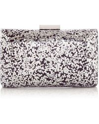 OLGA BERG - Glitz Glitter Cross Body Clutch - Lyst
