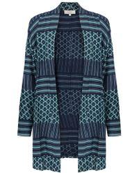 East - Astrid Print Kimono - Lyst