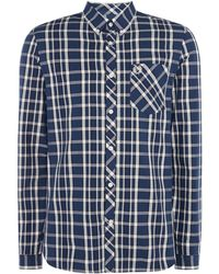 Fred Perry - Men's Bold Checked Shirt - Lyst