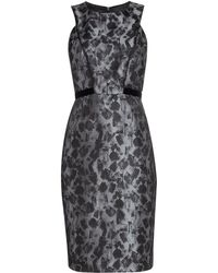 Ariella - Brush Stroke Bodycon Dress - Lyst