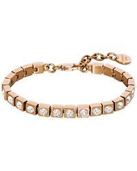 Dyrberg/Kern - Dk333300 Cone/b Rg Crystal Bracelet - Lyst