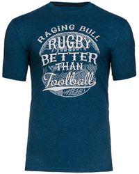 Raging Bull - Big And Tall Football T-shirt - Lyst