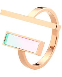 Storm - Tigi Ring Rose Gold - Lyst