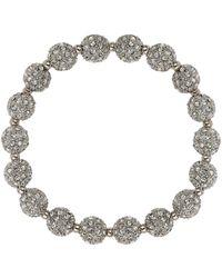 Mikey - Crystal Small Heavy Bracelet - Lyst