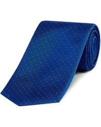 HUGO - Textured Pin Dot Tie - Lyst