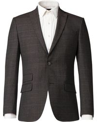 Alexandre Of England - Men's Whitnal Puppytooth Tailored Suit Jacket - Lyst