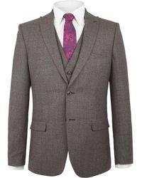 Alexandre Of England - Arbour Jaspe Check Jacket - Lyst