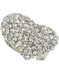 Mikey | M Heart Ring | Lyst