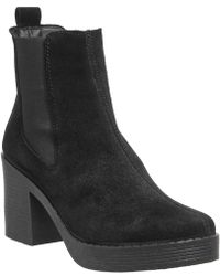 Office - Alesha Block Heel Chelsea Boots - Lyst