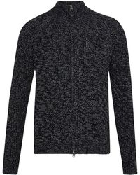 French Connection | Men's Twisted Rib Zip Through Cardigan | Lyst