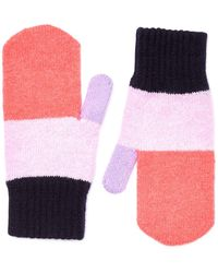 Jigsaw - Colour Block Gloves - Lyst