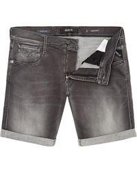 Replay - Men's Hyperflex Anbass Slim-fit Bermuda Shorts - Lyst