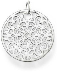 Thomas Sabo - Special Addition Large Silver Disc - Lyst