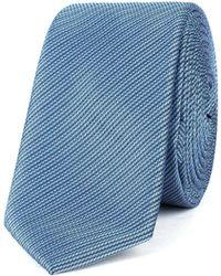 Limehaus - Self Stripe Tie - Lyst