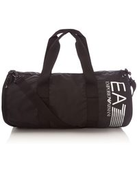 EA7 - Texturised Nylon Gym Bag - Lyst