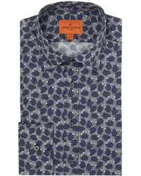 Simon Carter | Men's Hedgehog Print Shirt | Lyst