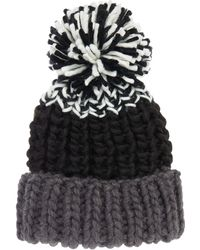 Label Lab - Oversized Chunky Hat - Lyst