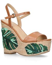 Michael Kors - Fisher Wedge Sandals - Lyst