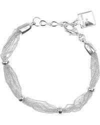 Anne Klein - Mesh Strand Bracelet - Lyst